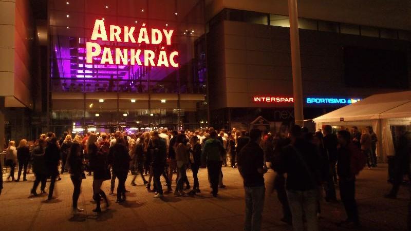 Gravity festival a Arkády Pankrác