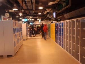 Lockery volně přístupné po celou dobu akce Transmission